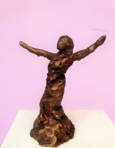 regineschulze,tänzerin,2018,Bronze--H17-x-B-16,1